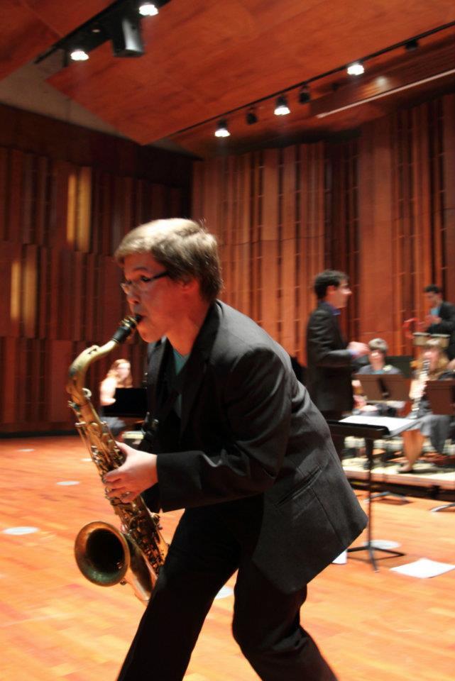 Hugo Rocha saxofonista