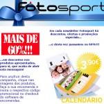 Campanha de e-mail marketing para a Fotosport