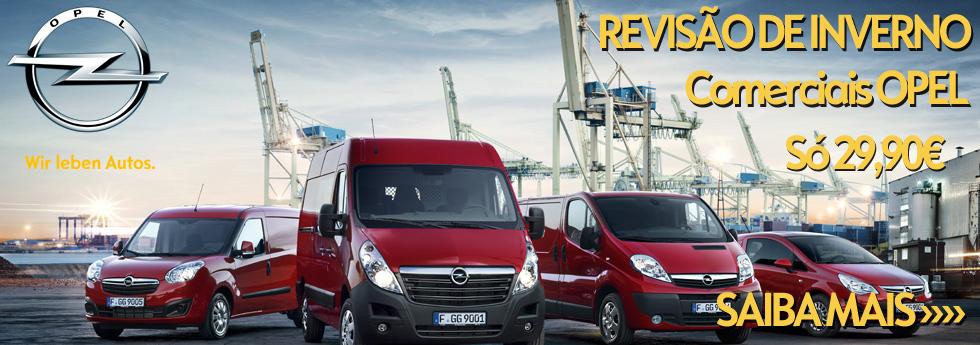 Banner Comerciais Opel